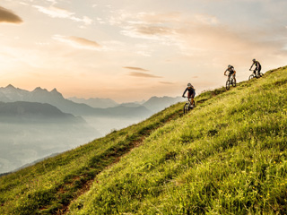 Mountainbiker paradijs